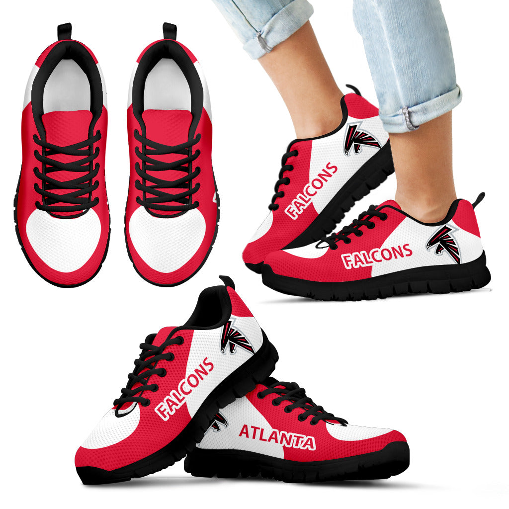 Atlanta Falcons Top Logo Sneakers