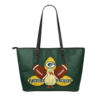 Thanksgiving Green Bay Packers Leather Bags - Best Funny Store