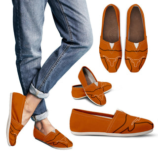 Enormous Logo Mix Tiny Logo Fantastic Texas Longhorns Casual Shoes