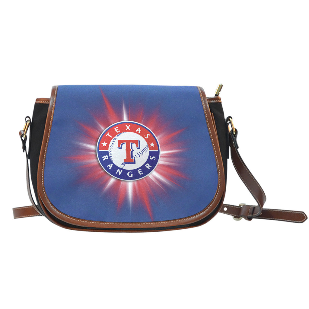 Texas Rangers Flashlight Saddle Bags - Best Funny Store