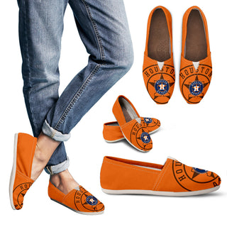 Enormous Logo Mix Tiny Logo Fantastic Houston Astros Casual Shoes