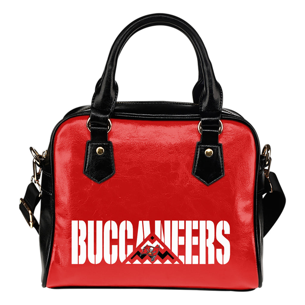Tampa Bay Buccaneers Mass Triangle Shoulder Handbags