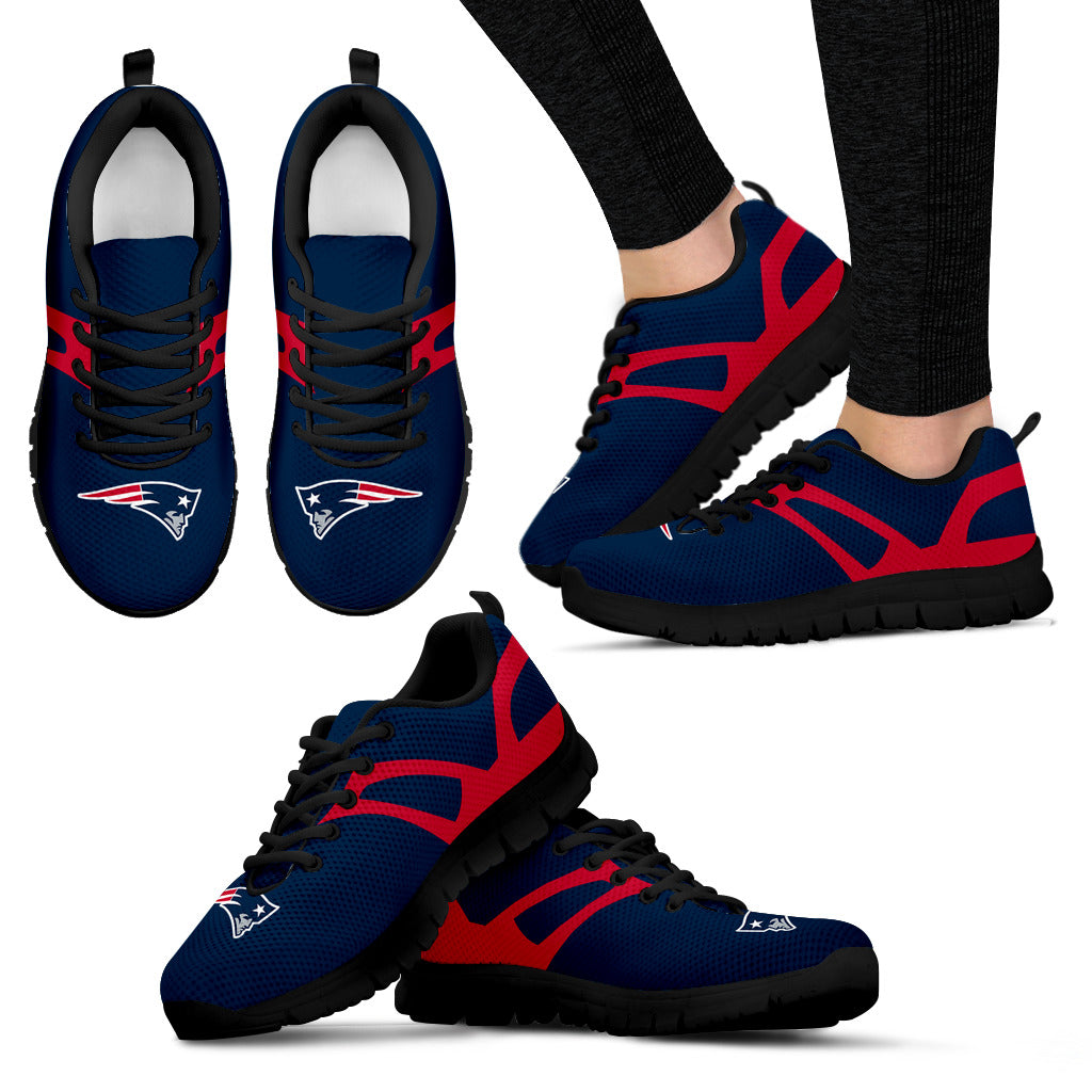 Line Amazing Bottom New England Patriots Sneakers
