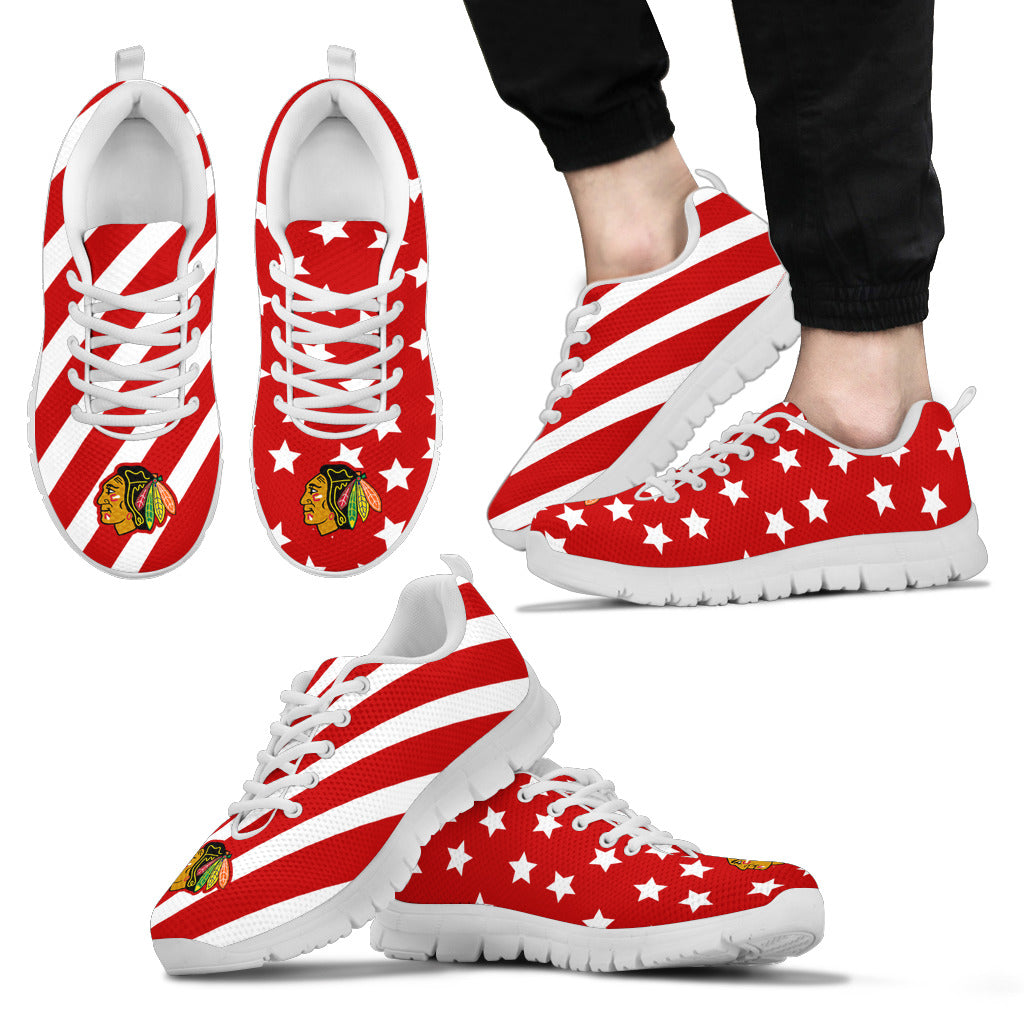 Splendid Star Mix Edge Fabulous Chicago Blackhawks Sneakers