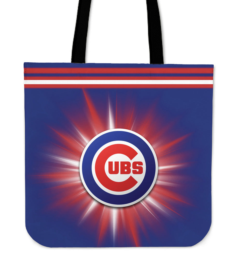 Chicago Cubs Flashlight Tote Bags - Best Funny Store