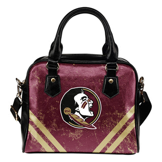 Couple Curves Light Good Logo Florida State Seminoles Shoulder Handbags