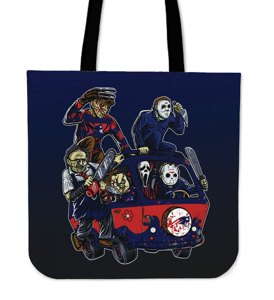 New England Patriots The Massacre Machine Tote Bag - Best Funny Store