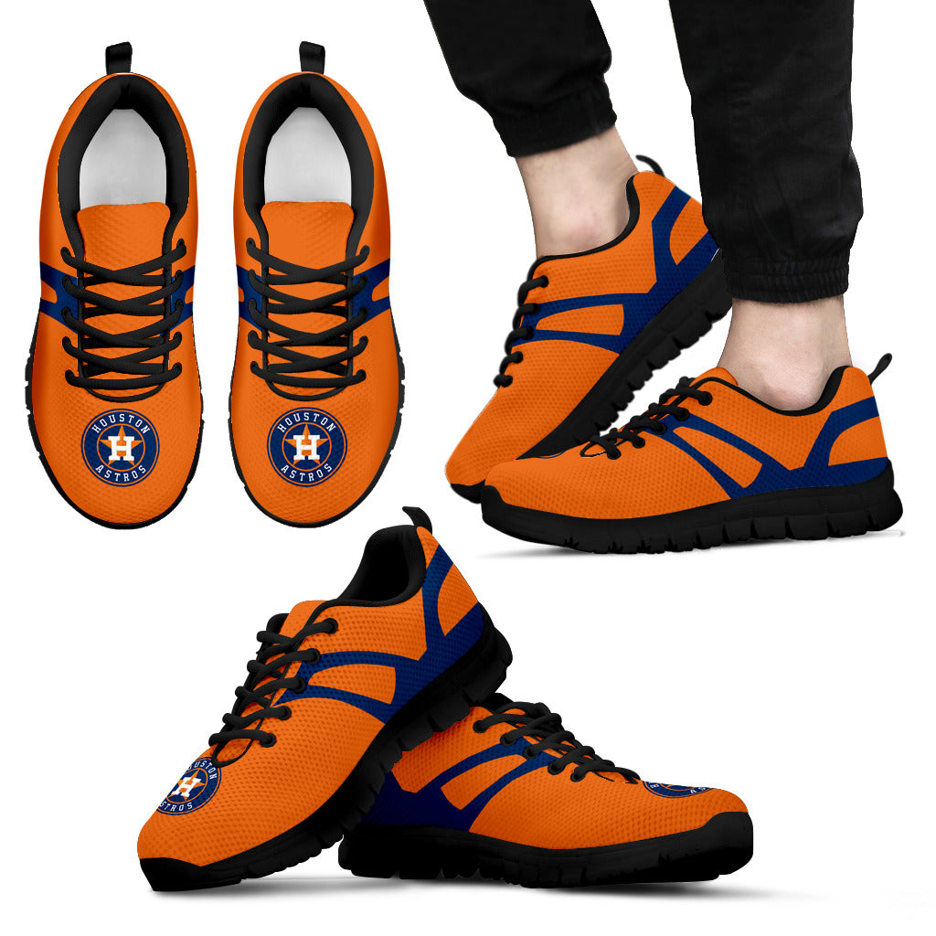 Line Amazing Bottom Houston Astros Sneakers