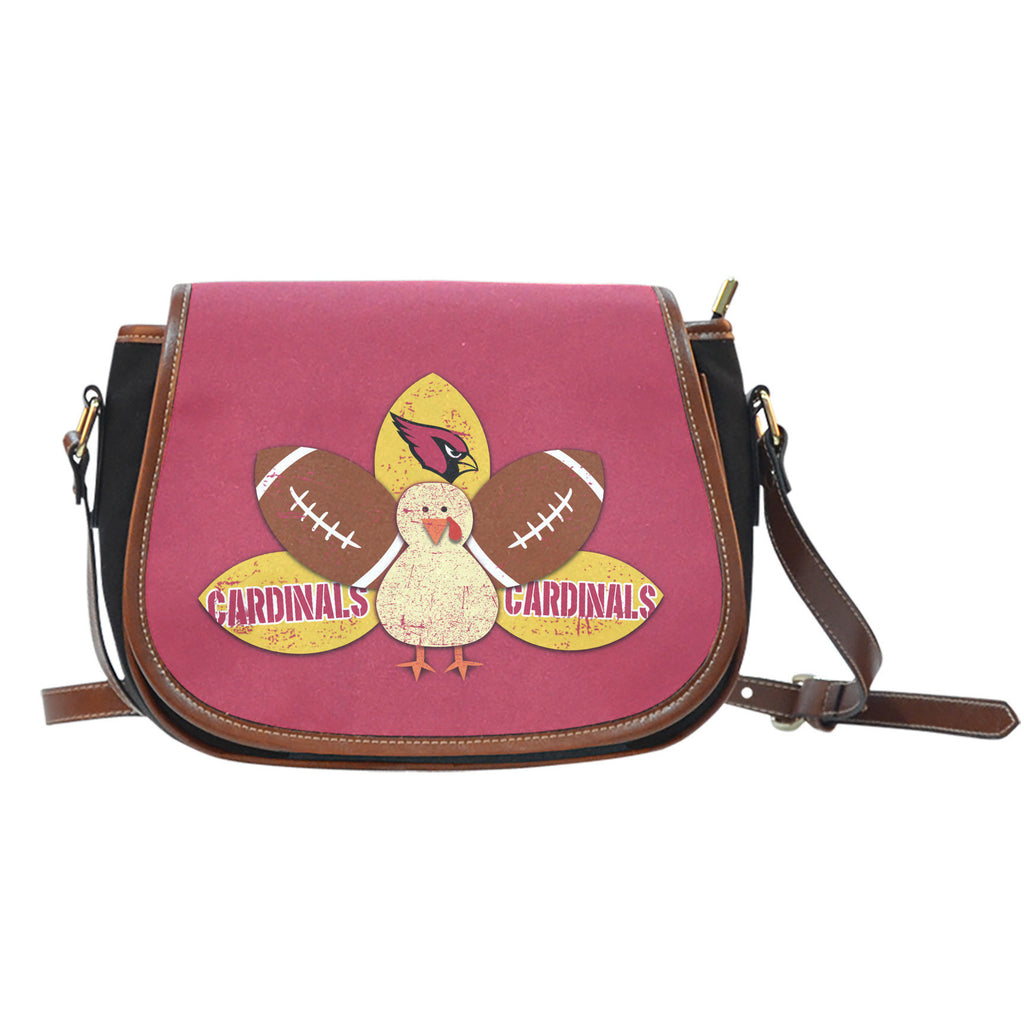 Thanksgiving Arizona Cardinals Saddle Bags - Best Funny Store
