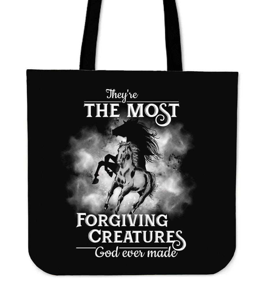 They're The Most Horse Tote Bags