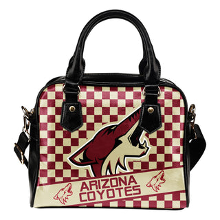 Different Fabulous Banner Arizona Coyotes Shoulder Handbags