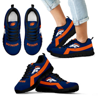 Denver Broncos Line Color Sneakers