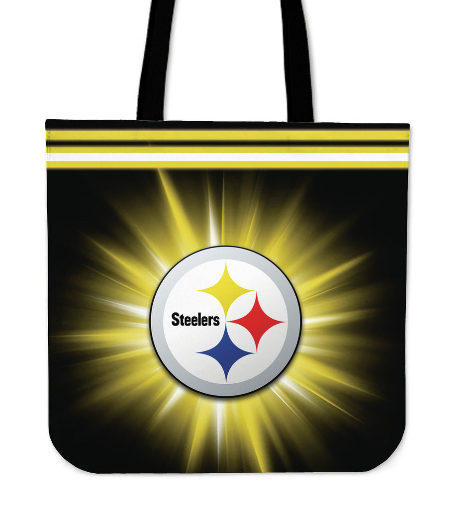 Pittsburgh Steelers Flashlight Tote Bags - Best Funny Store
