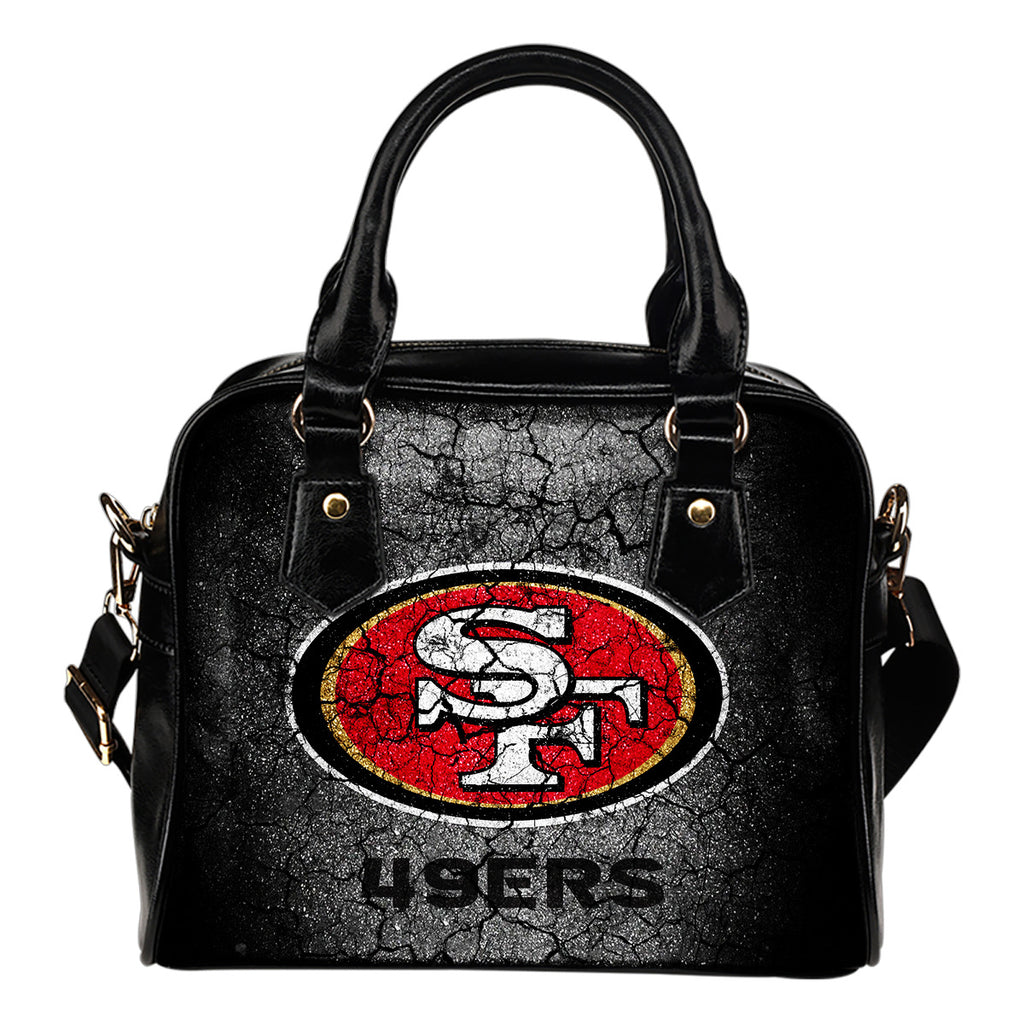 Wall Break San Francisco 49ers Shoulder Handbags Women Purse