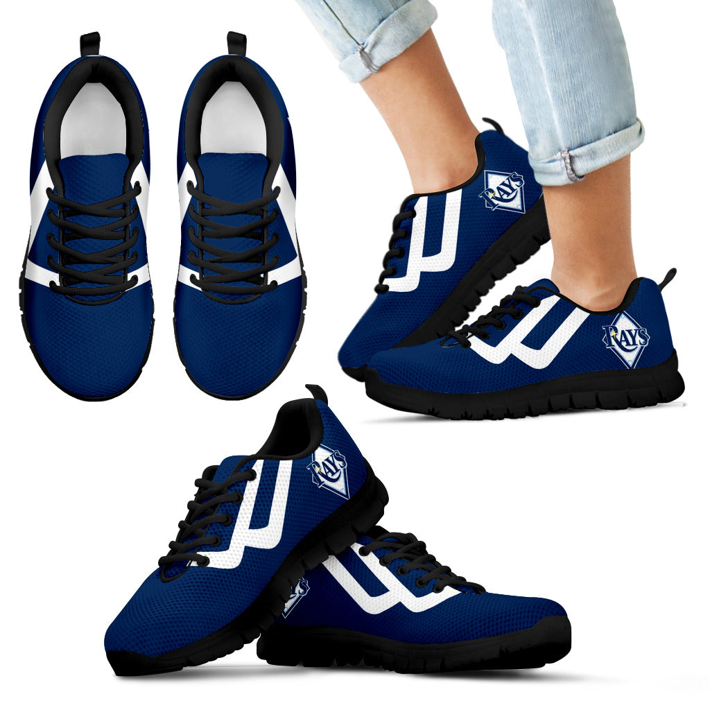 Line Bottom Straight Tampa Bay Rays Sneakers