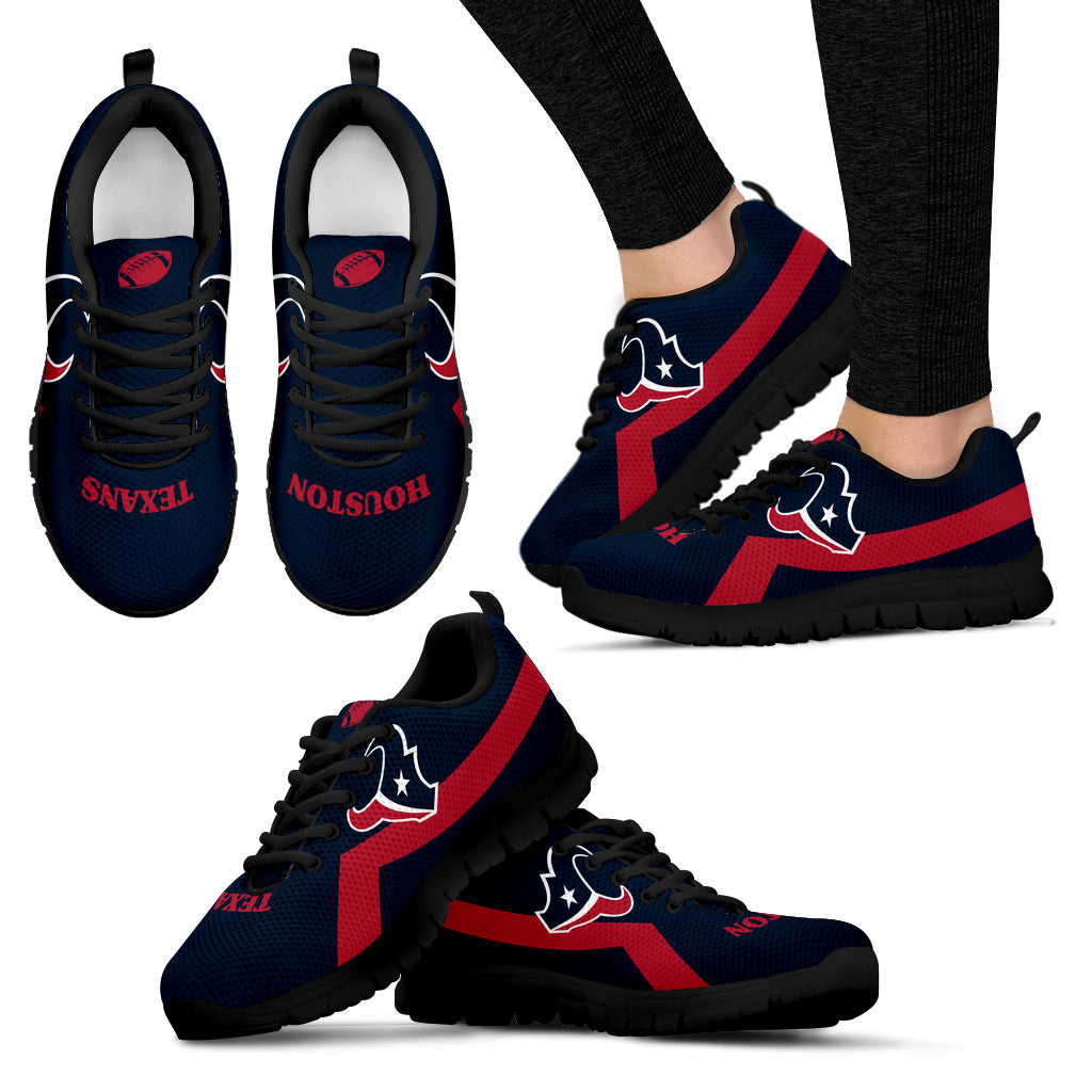 Houston Texans Line Logo Sneakers