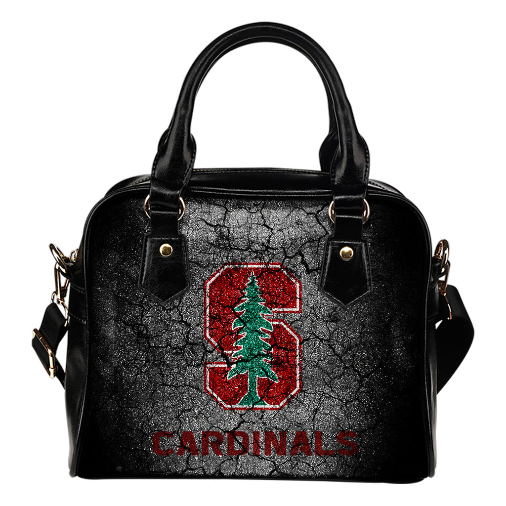 Wall Break Stanford Cardinal Shoulder Handbags Women Purse