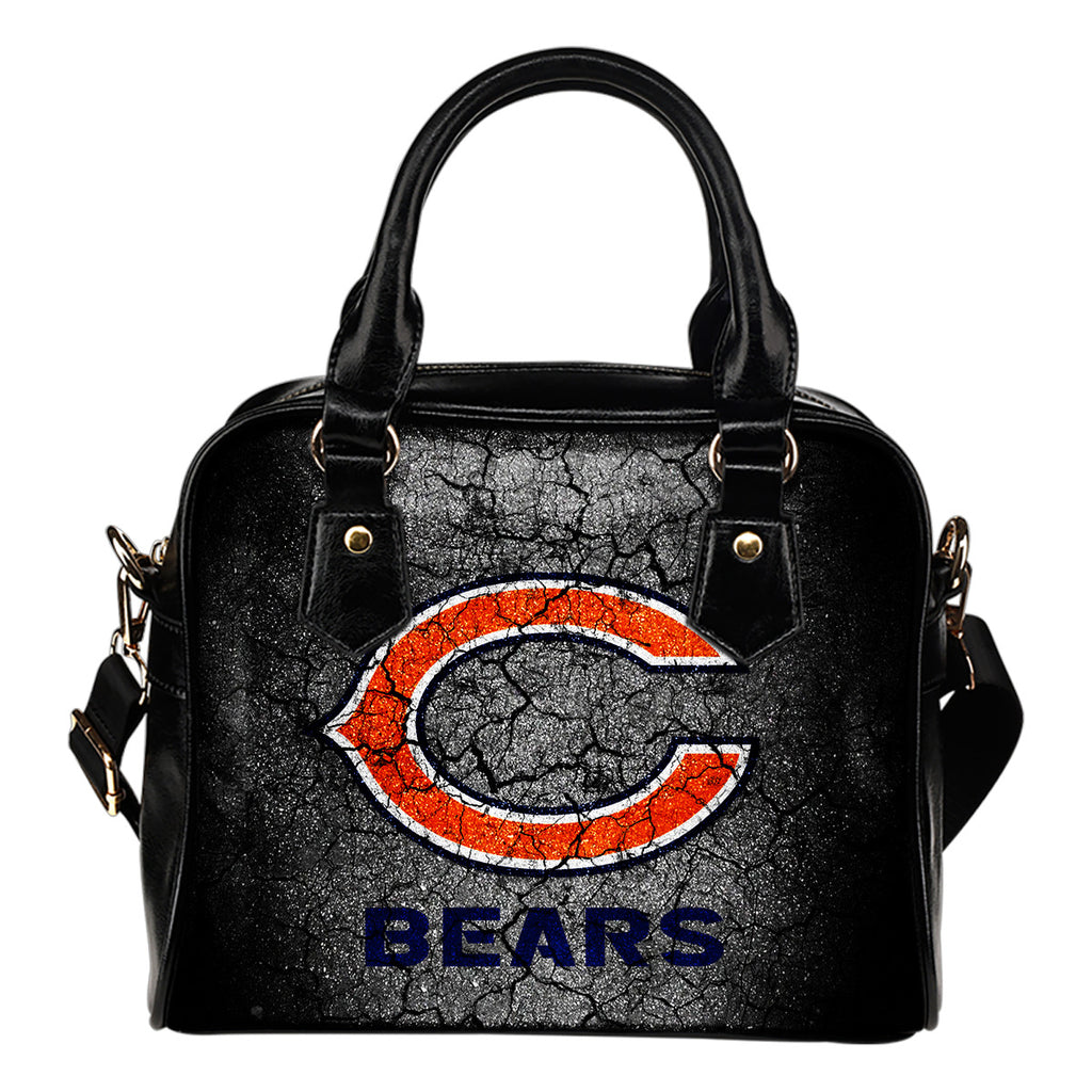 Wall Break Chicago Bears Shoulder Handbags Women Purse