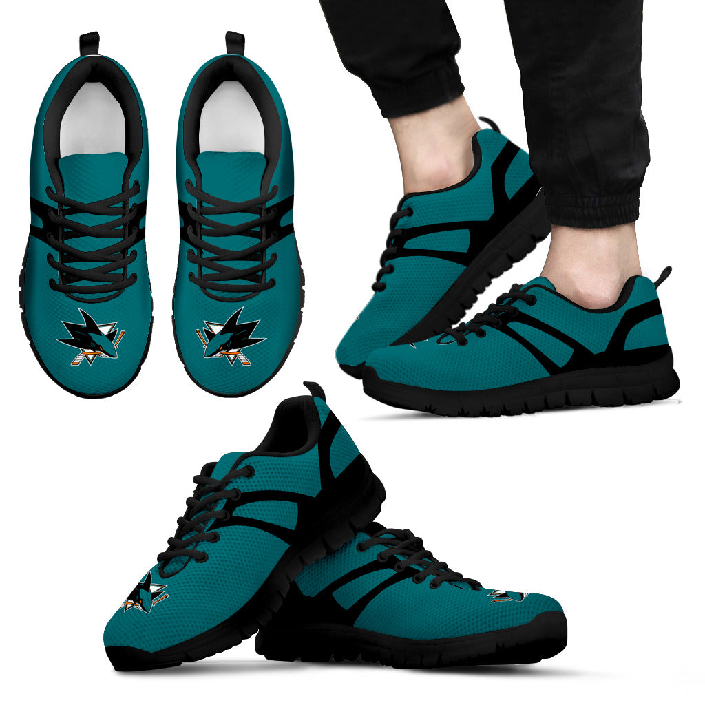 Line Amazing Bottom San Jose Sharks Sneakers