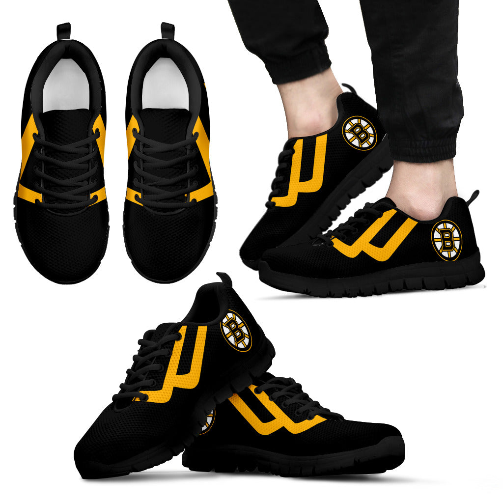Line Bottom Straight Boston Bruins Sneakers