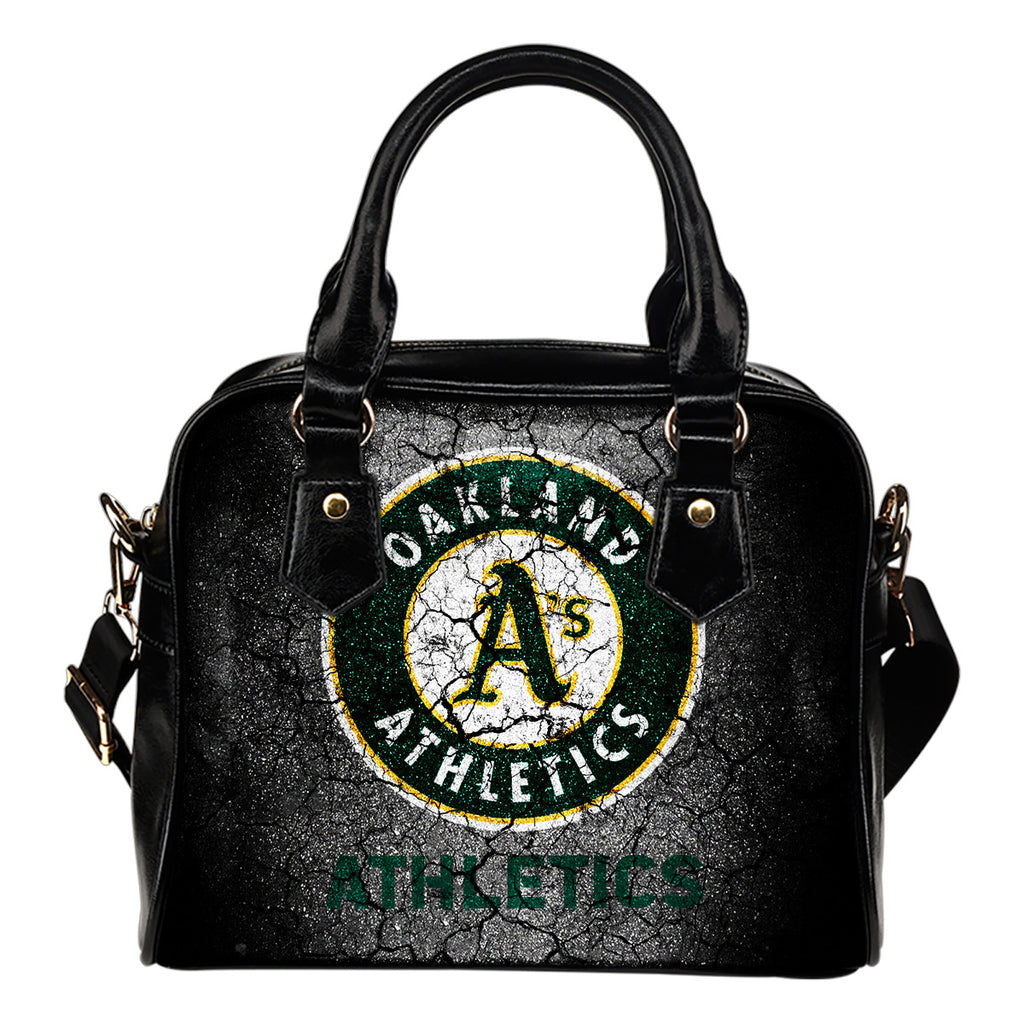 Wall Break Oakland Athletics Shoulder Handbags Women Purse
