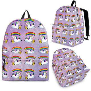 Reading Book Unicorn Backpacks