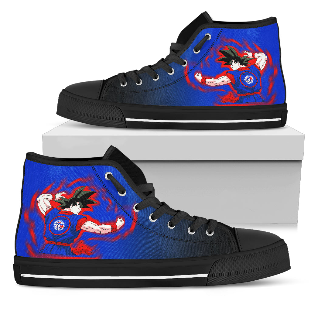 Toronto Blue Jays Goku Saiyan Power High Top Shoes