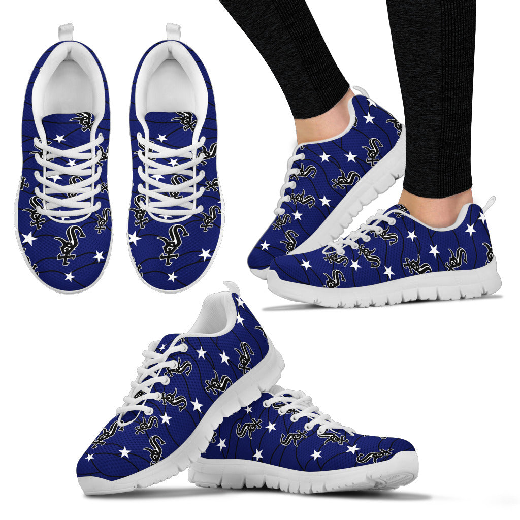 Star Twinkle Night Chicago White Sox Sneakers