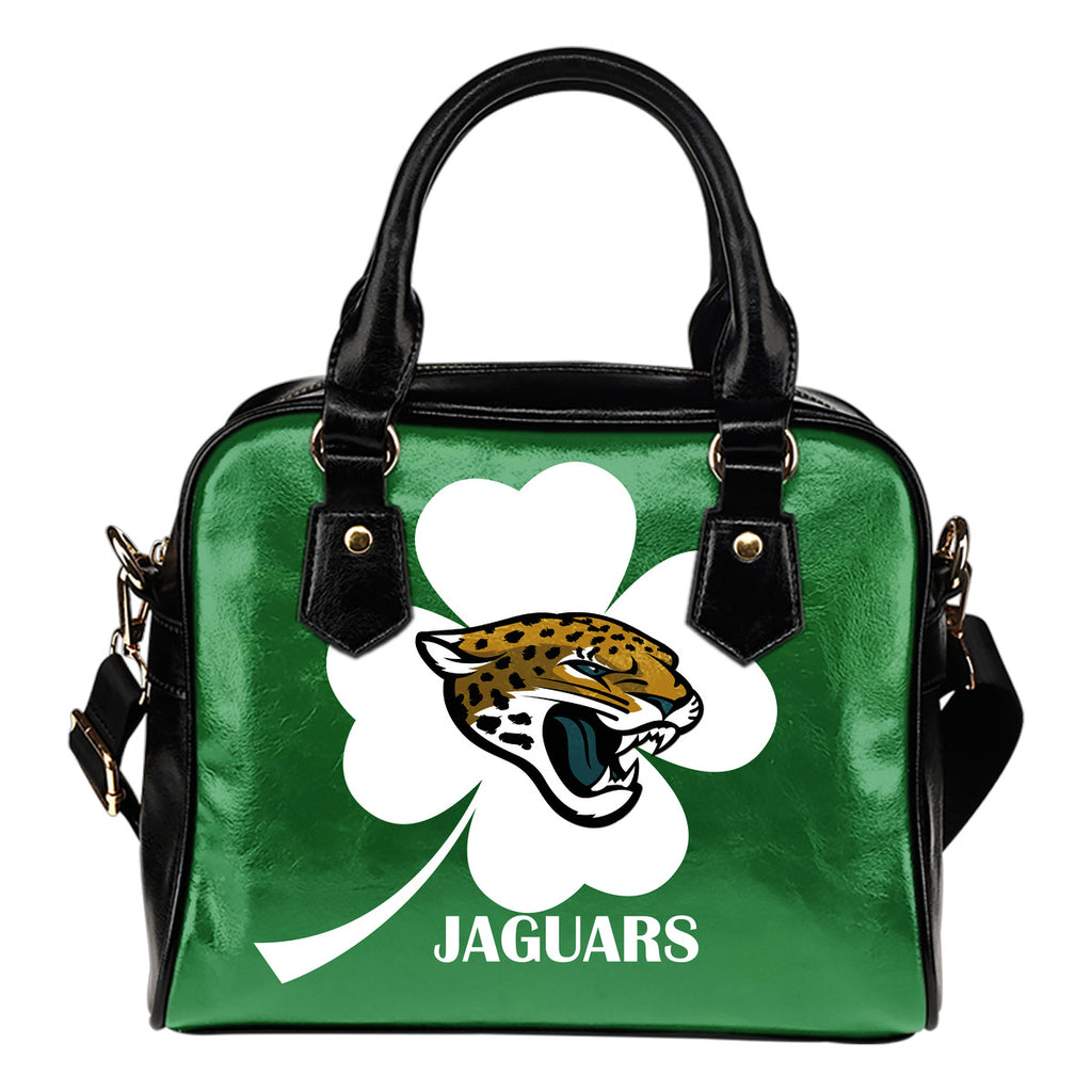 Jacksonville Jaguars Blowing Amazing Stuff Shoulder Handbags