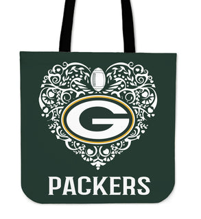 RH Green Bay Packers Tote Bag For Women - Best Funny Store