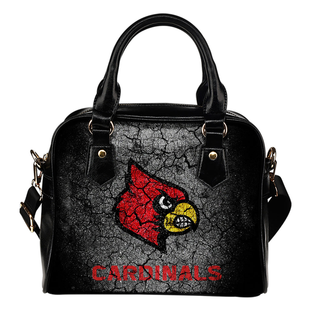 Wall Break Louisville Cardinals Shoulder Handbags Women Purse