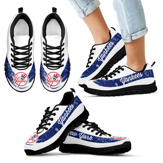Single Line Logo New York Yankees Sneakers