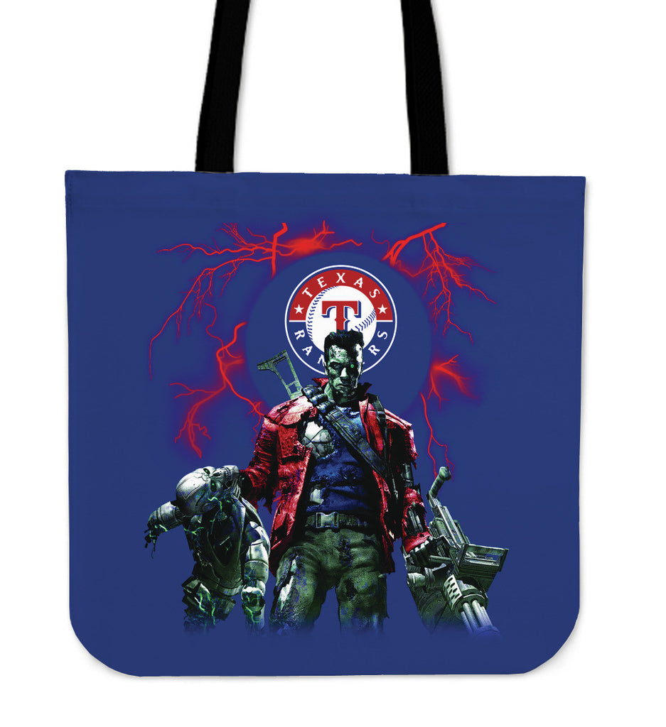 Texas Rangers Guns Tote Bag - Best Funny Store