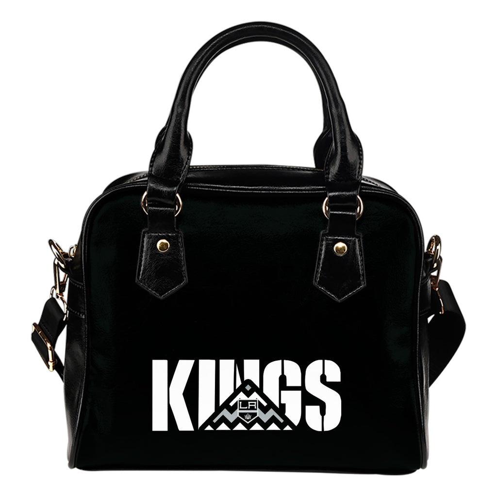 Los Angeles Kings Mass Triangle Shoulder Handbags