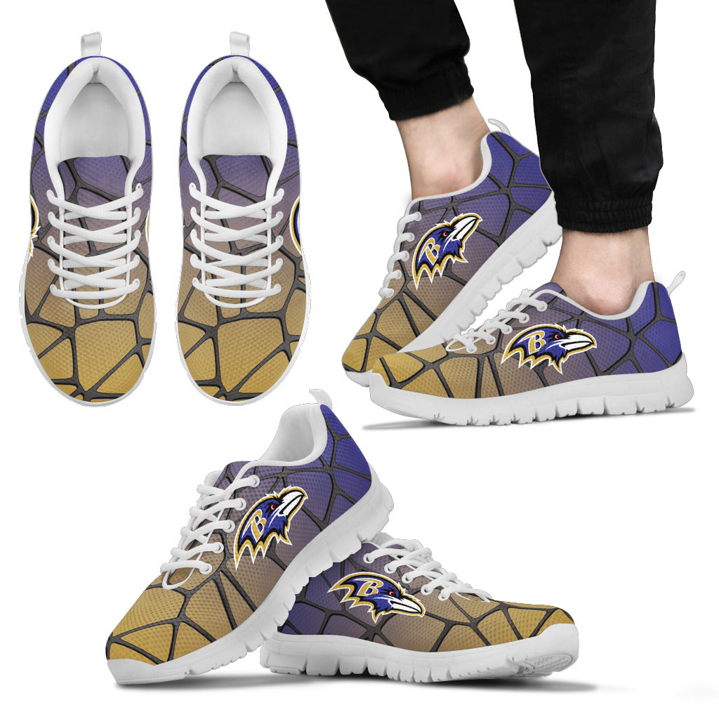 Colors Air Cushion Baltimore Ravens Gradient Sneakers