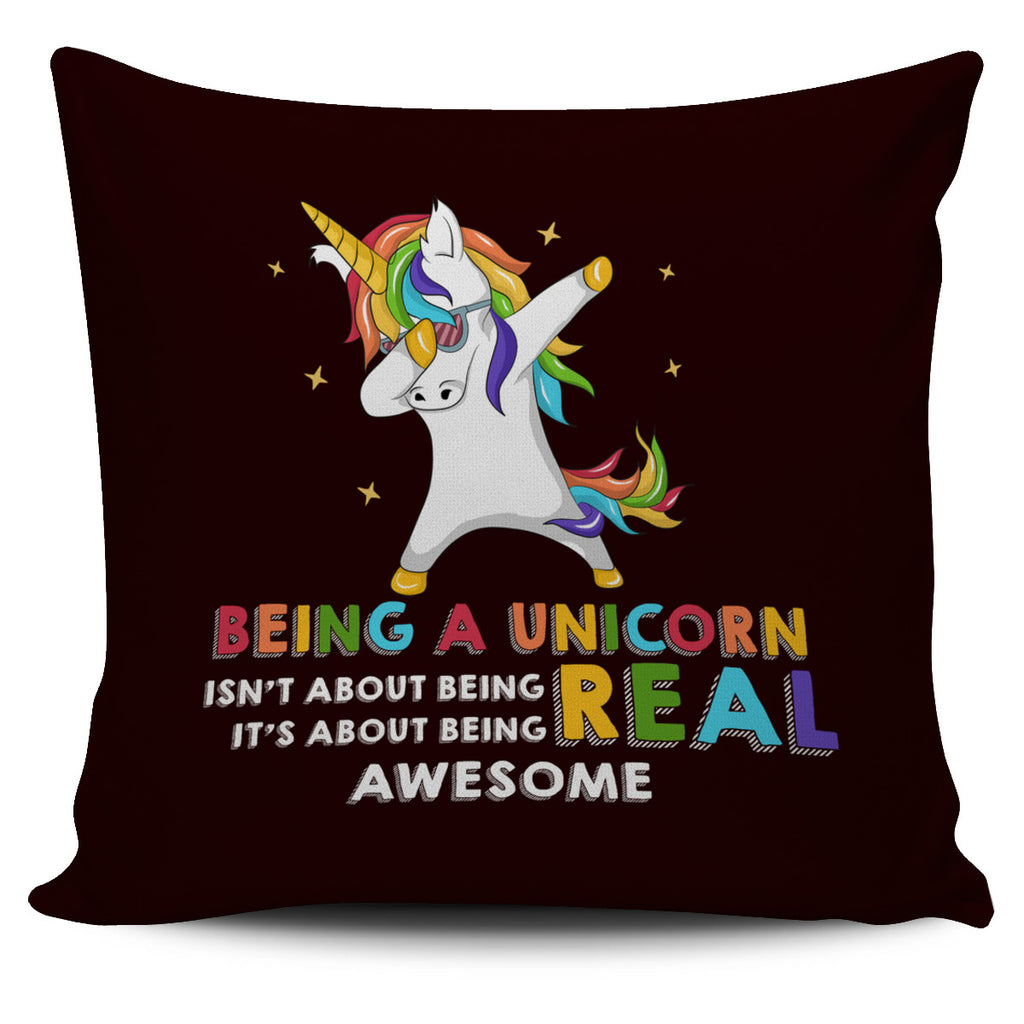 Being A Unicorn Pillow Covers