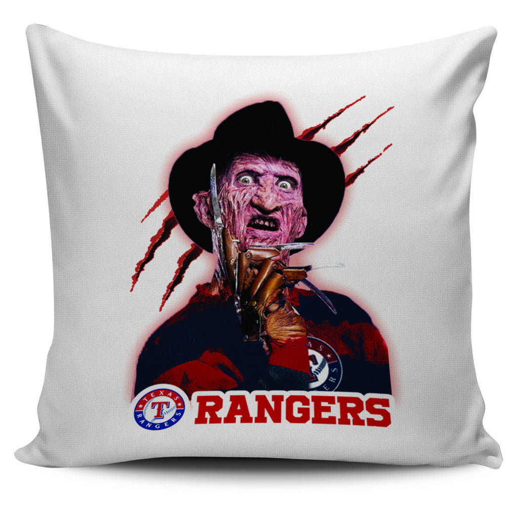 Freddy Texas Rangers Pillow Covers - Best Funny Store
