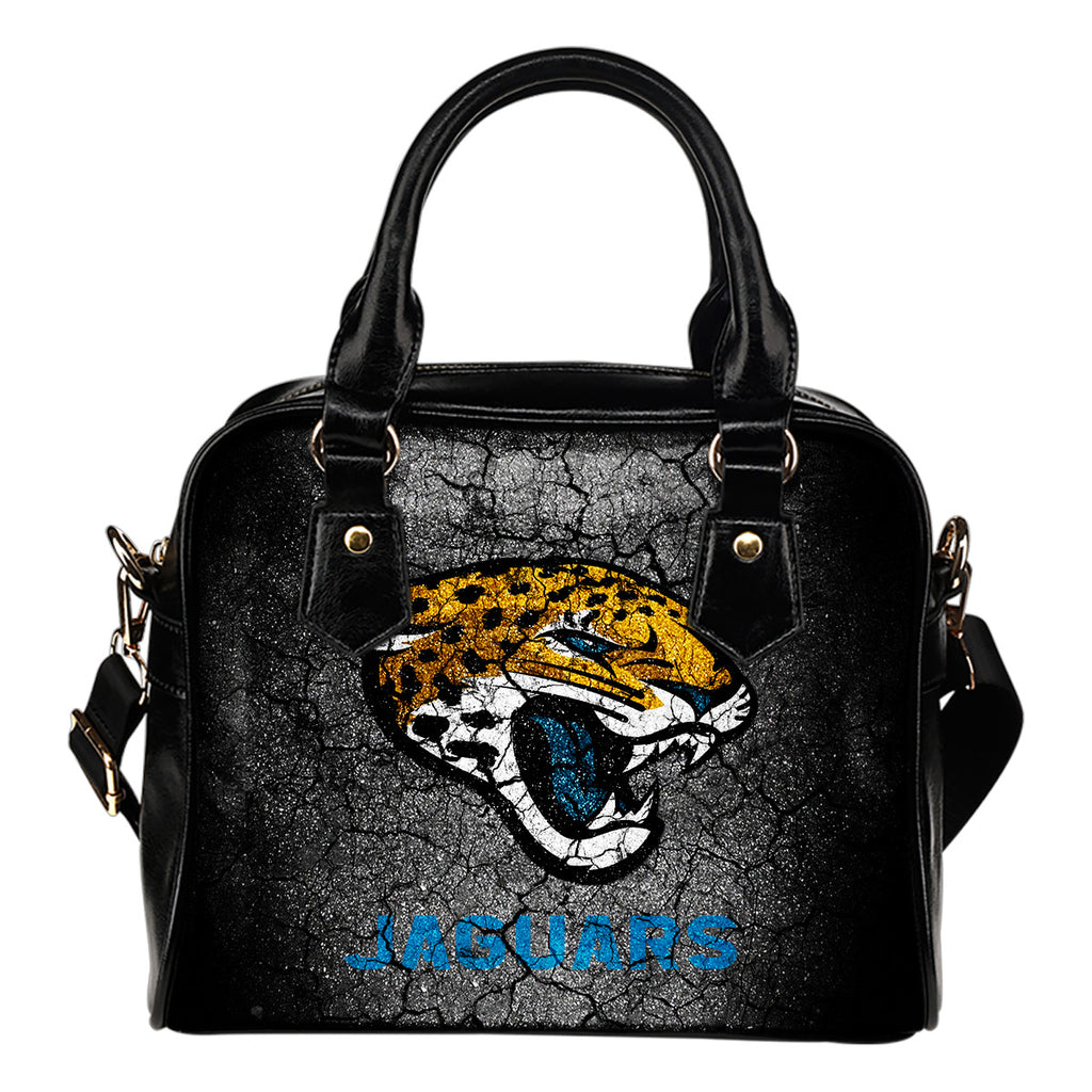 Wall Break Jacksonville Jaguars Shoulder Handbags Women Purse