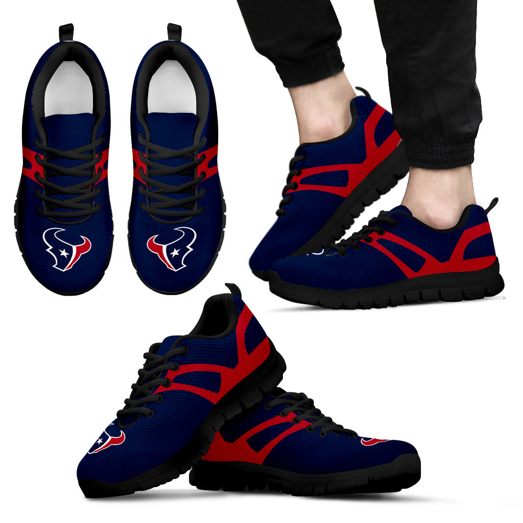 Line Amazing Bottom Houston Texans Sneakers