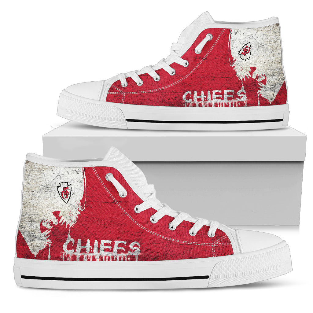 Alien Movie Kansas City Chiefs High Top Shoes