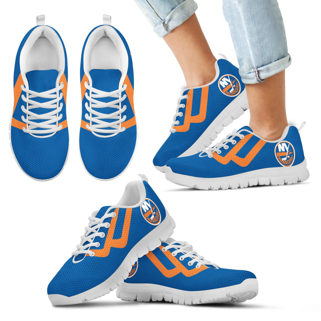 Line Bottom Straight New York Islanders Sneakers