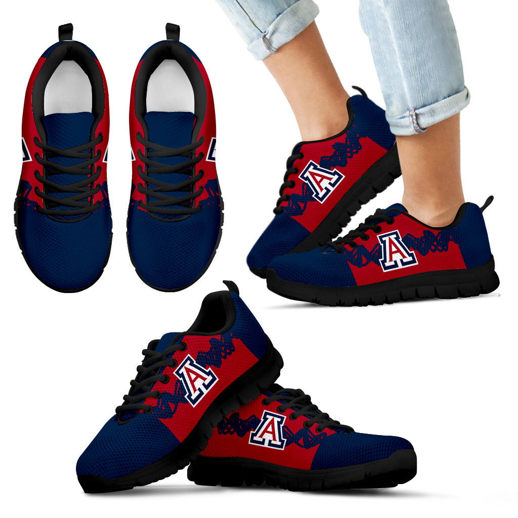 6648245e2ac3 Doodle Line Amazing Arizona Wildcats Sneakers V1 – Best Funny Store