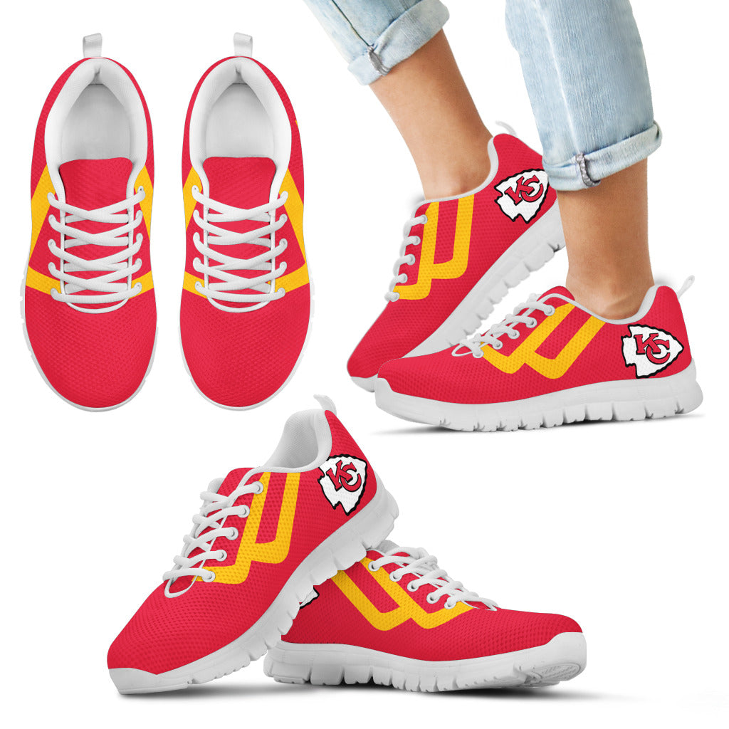 Line Bottom Straight Kansas City Chiefs Sneakers