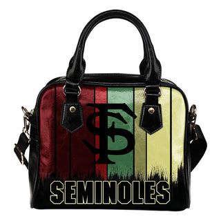 Vintage Silhouette Florida State Seminoles Purse Shoulder Handbag