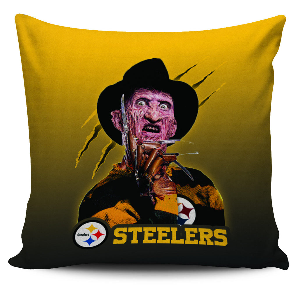 Freddy Pittsburgh Steelers Pillow Covers - Best Funny Store