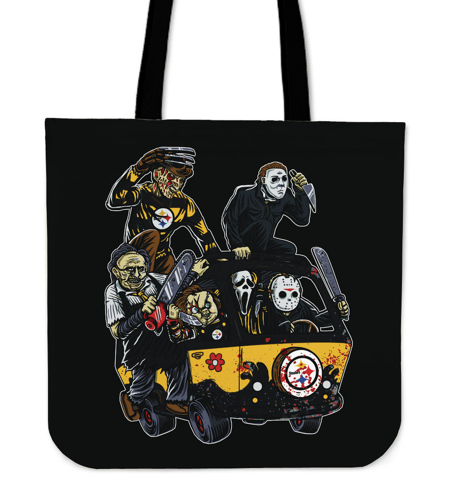 Pittsburgh Steelers The Massacre Machine Tote Bag - Best Funny Store