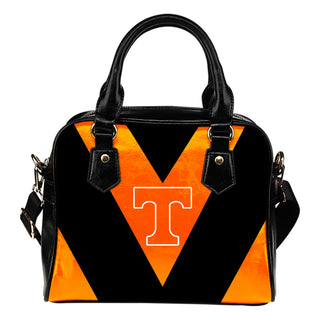 Triangle Double Separate Colour Tennessee Volunteers Shoulder Handbags
