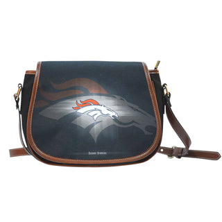 Denver Broncos Light Logo Saddle Bags