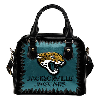 Jagged Saws Mouth Creepy Jacksonville Jaguars Shoulder Handbags