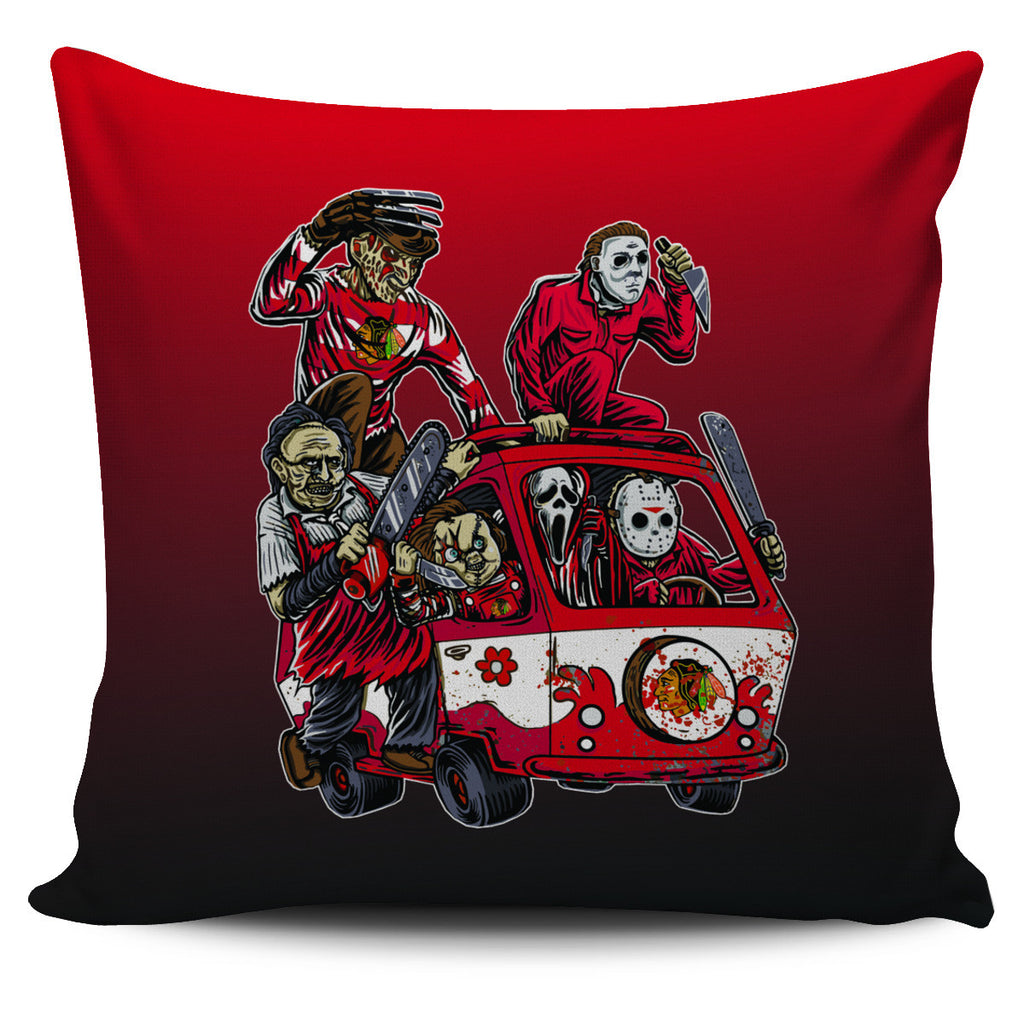 The Massacre Machine Chicago Blackhawks Pillow Covers - Best Funny Store